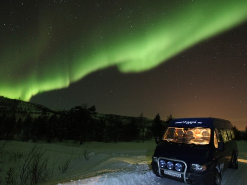 Viaggio Aurora boreale in Norvegia: Ongajok Mountain Lodge